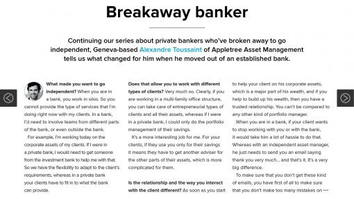 Citywire E-zine Private Banker